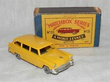 50s.MOKO.Matchbox.Lesney.31 a,FORD,Station Wagon,Estate,MINT BOXED.METAL wheels