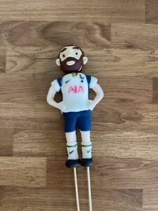 Edible football player cake topper decoration, fully customisable.