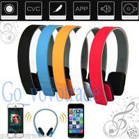 Wireless Bluetooth Headset Stereo Headphone Earphone for iPhone Samsung HTC Lot