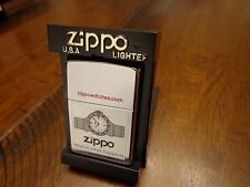 ZIPPO WATCHES WATCH WHAT HAPPENS ZIPPOWATCHES.COM RARE ZIPPO LIGHTER 1999