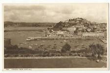 Devon - Torquay from Vane Hill - Vintage Postcard