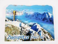 Zugspitze Garmisch  Germany,2 D Holz Wood Magnet,Souvenir Deutschland,Neu