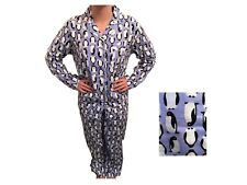 FAB LADIES FLANNELETTE COTTON PENGUIN PRINT BUTTON DOWN PYJAMAS SIZES 8-26