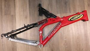 SPECIALIZED GROUND CONTROL FRAMESET, 1997, 18IN, USED, RED, PLEASE READ