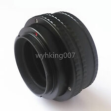 Register M42 Lens to Sony NEX E helicoid adapter 17-31mm Macro extension Tube