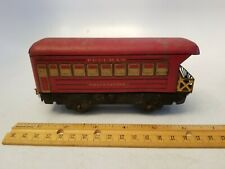 Pre War Marx Toys - Pullman Observation Train