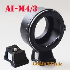 Nikon F AI Mount to Micro Four Thirds M43 GF GF1 GF2 Adapter AI-M4/3 With Tripod