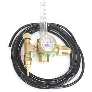 Argon CO2 Mig Tig Flow meter Regulator For Gas Welding Weld Machine
