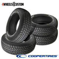 4 X New Cooper Radial G/T P245/60R15 100T Tires
