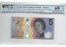 2016 Australia $5 PCGS69 OPQ <P-62a> SUPERB GEM UNC 'POLYMER'