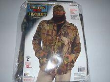 Men's Duck Hunting Season Hunter Forest Adult Halloween Costume Jacket