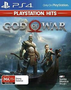 God of War PS4 Playstation 4 Brand New Sealed