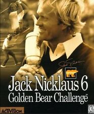Jack Nicklaus 6 Golden Bear Challenge Golf PC Win95/98 CD tested Win 7 working