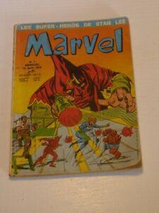 Marvel n°1 E.O LUG 1970 les supers héros de Stan Lee 10 avril 1970