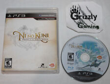 USED Ni no Kuni: Wrath of the White Witch Sony Playstation 3 PS3