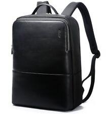 "Bopai Leather Backpack for Men 14""-15"" Laptop Backpack School Rucksack Business"