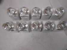 (10) Halogen Lamps with Cover Glass 12V 35 Watt Light Bulb BAB Cequent MR16C
