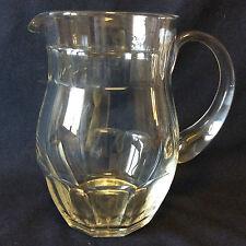 Pichet en cristal de Nancy Lorraine taillé hauteur16,5cm contenance 80 cl France