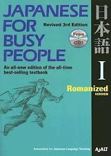 Japanese for Busy People I: Romanized Version includes CD (Japanese for Busy Peo