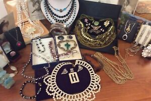 Job Lot Vintage Modern Jewellery Sterling Silver Marcasites Brooch Millefiori Et