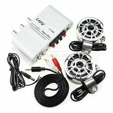 Mini Hi-Fi Amplifier iPod MP3 Stereo Amp Car Motorcycle