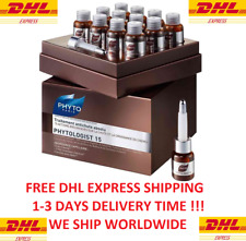 PHYTO PHYTOLOGIST 15 Anti-Hair Loss Treatment 12 Amp x 3,5 ml  EXPRESS SHIPPING