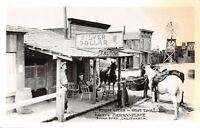 Buena Park CA~Knott's Berry Farm~Ghost Town Silver Dollar Saloon~1940s RPPC
