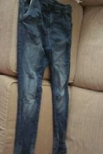 Adidas NEO Blue Denim Collection stretch Jeans Pants Trousers XL Worn Once