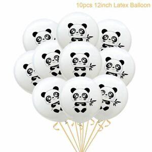 Cute Panda Latex Balloons Banner Set Child Kid Baby Birthday Baby Shower Party