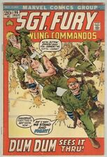 Sgt. Fury and His Howling Commandos #96 March 1972 VG