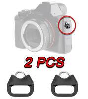 SPLIT TRIANGLE RING CAMERA STRAP PER FUJIFILM X-A10 GFX 50S X-A3 X-T2 X-PRO2 X70