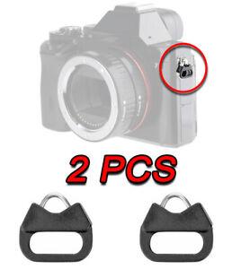 SPLIT TRIANGLE RING ADAPTER NECK STRAP ADATTO PER FUJIFILM X-E4 X-S10 X-T4 X100V