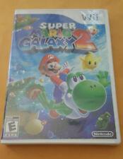 Super Mario Galaxy 2 (Nintendo, Wii) Original Cover, Brand New!