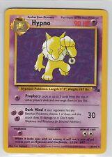 Hypno . Fossil . 2/62 . Pokemon TCG . LP. Rare