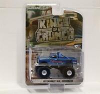 GREENLIGHT 1:64 Kings of Crunch w2 1972 Chevrolet K-10 Monster Truck ExTerminato