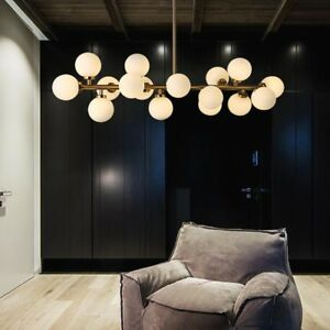 Kitchen Chandelier Lighting Glass Pendant Light Modern Ceiling Lights Home Lamp