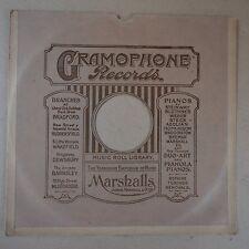 "12"" 78rpm gramophone record sleeve MARSHALLS yorkshire music emporium bradford"
