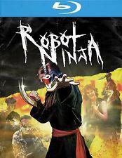 ROBOT NINJA - 2K Restored Blu-ray or DVD 1989 cult horror gory Linnea Quigley