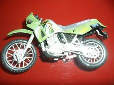 Modellino Moto Scala 1.18 Kawasaki KLR 650 MAISTO Ottimo!! MotorBike Pressofuso