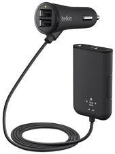 Belkin Road Rockstar 4 Port USB Fast Car Charger for Apple Samsung Android