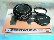 SMC PENTAX-M 40MM F2.8 PANCAKE LENS PENTAX PK MANUAL FOCUS *RARE FIND *MINT-
