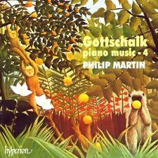 Louis Moreau Gottschalk  Piano Music 4 / Klaviermusik Vol. 4  Philip Martin OVP