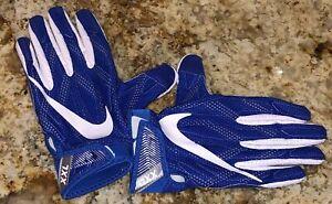 NIKE Superbad 4 AIR FORCE Royal Blue Skilled Players Football Gloves Mens XL 2XL