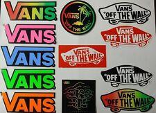 12 x Vans Shoes Stickers / Decals Skateboard Skate BMX Snowboard Surf Motocross