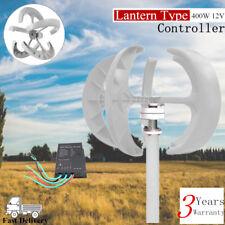 12V 400W Lanterns Wind Turbine Generator Vertical Axis High Quality + Controller