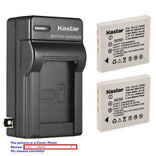 Kastar Battery Wall Charger for Kodak KLIC-7005 K7600-C 1615350 EasyShare C763