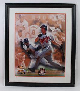 Cal Ripken Jr framed signed autographed photo! Schwartz!