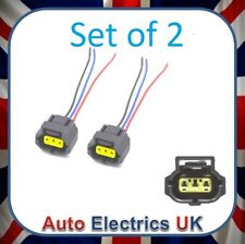 2x SMART CHARGE ALTERNATOR PLUG FOR FORD FOCUS TRANSIT FIESTA MONDEO KA CONNECT