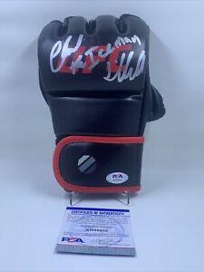 """Chuck Liddell Signed UFC Glove PSA/DNA """"The Iceman"""""""