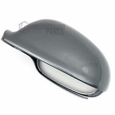 VW GOLF MK5 METALLIC UNITED GREY PASSENGER LEFT SIDE DOOR WING MIRROR COVER CAP